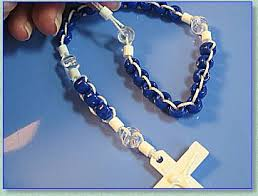 rosary kits rosary makers guide pony bead rosary
