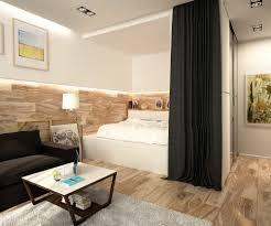 impressive one room apartment bedroom ideas simple apartment