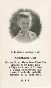 funeral cards funeral cards norman cyr s funeral card our acadian