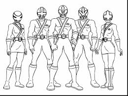 power rangers coloring pages bestofcoloring mighty power