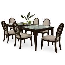 value city furniture dining room sets coaster carone rectangular