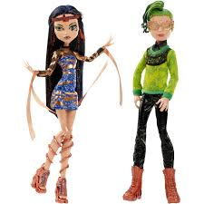 monster high halloween dolls monster high boo york cleo de nile and deuce gorgon walmart com