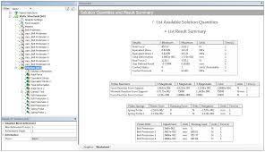 result summary worksheet