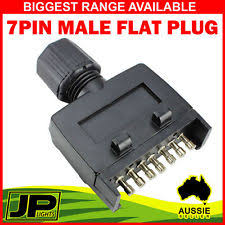 7 pin flat trailer plug trailer parts ebay