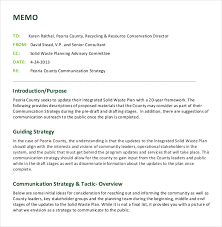 12 strategy memo templates u2013 free sample example format