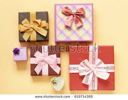 boxes with bows vector girly valentines boxes bows stock vector 143579032