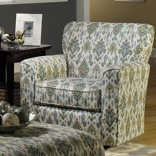 craftmaster accent chairs upholstered swivel small rocking chair