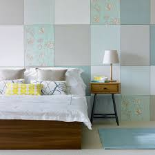 Yellow Feature Wall Bedroom Bedroom Colour Schemes Ideal Home