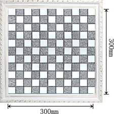Mirrored Mosaic Tile Backsplash by Mirror Mosaic Tiles How To Frame A Bathroom Mirror With Mosaic