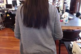 how to cut hair straight across in back how to cut hair straight across best hairstyles 2018