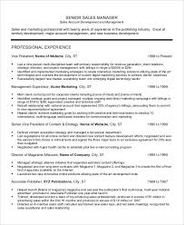 Sales Director Resume Examples by Professional Manager Resume 49 Free Word Pdf Documents