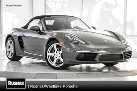 boxster porsche 2017 buy or lease porsche 718 boxster in los angeles southern california