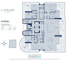l u0027atelier floor plans luxury oceanfront condos in miami beach