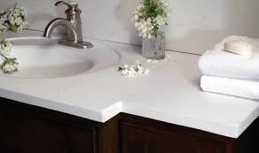 Bathroom Vanity Top Ideas Cultured Marble Bathroom Vanity Tops Ideas For Home Interior