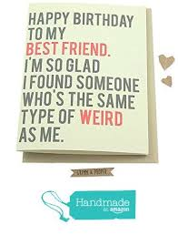 funny happy birthday cards for best friend winclab info