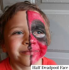 half face halloween makeup ideas lille punkin u0027 easy halloween makeup ideas for kids and baby