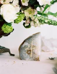 gold wedding table numbers elegant agate inspired wedding ideas once wed