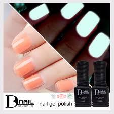 aliexpress com buy bd soak off nail art polish gel glow in the