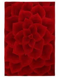 D Rose HandCarved Rug By NuLOOM At Gilt Home Decor Print - Gilt home decor