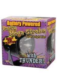 mega strobe with thunder strobe lights halloween party accessories