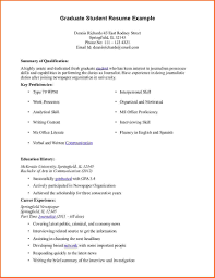 Latex Template Resume Graduate Student Resume Resume For Your Job Application
