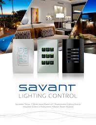 Home Lighting Design Pdf by Savant Lighting Control Savant Systems Pdf Catalogues