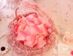 Silk Rose Petals Colorful 200pcs Pretty Fabric Flower Rose Petals Wedding Party
