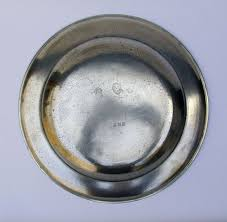 pewter platter large pewter platter by townsend compton