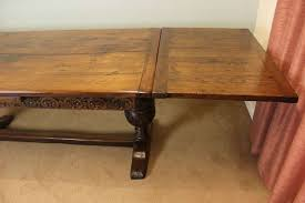 table with slide out leaves antique table with pull out leaves photo delightful building a