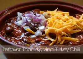 leftover thanksgiving turkey chili the recipe two days after