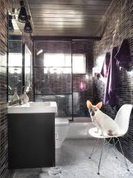 Cool Small Bathroom Ideas Three Quarter Bathroom Hgtv