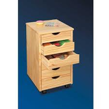 Schreibtisch Kirschbaum Rollcontainer Nabrosia Aus Kiefer Massivholz Wohnen De