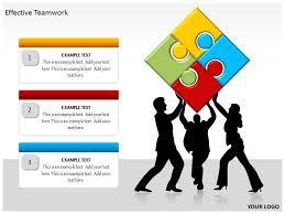 effective teamwork powerpoint template background of management