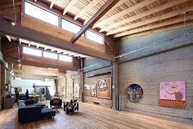 living space high ceilings art sf loft in san francisco