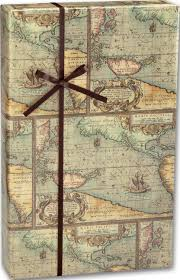 map wrapping paper roll world map gift wrapping paper roll vintage bags bows