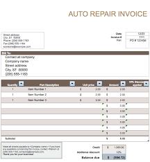 car rental invoice template printable invoice template