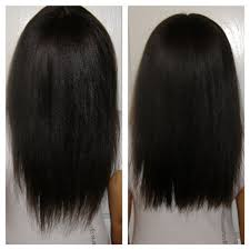 how to trim relaxed hair how to trim split ends and add layers length check youtube