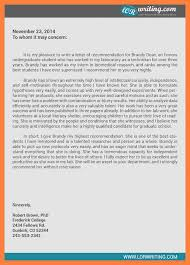 personal reference letter character reference letter for student