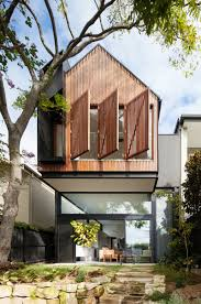 patio house this house in australia received a cantilevered extension with