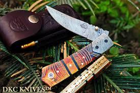dkc knives custom damascus steel u0026 engraved