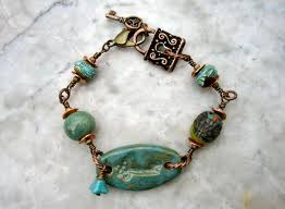 126 best ceramic bracelet images on pinterest ceramic jewelry