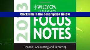 read online wiley cpa examination review 2013 focus notes