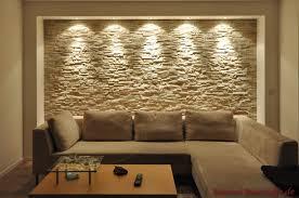 steinwand im wohnzimmer bilder wohnzimmer mit steinwand mit beleuchtung haus
