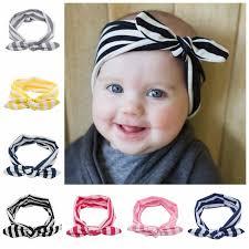baby headband new cloth blend baby headband girl hair bunny ears headbands kids