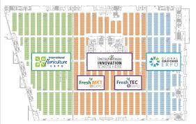 2017 floor plans united fresh show innovation starts here if you would like to view our interactive floor plan which shows specific exhibitor locations please click below