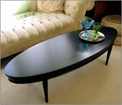 Oval Glass Table Coffee Table Black Oval Glass And Steel Cara Coffee Table Black