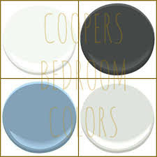 cooper u0027s colors benjamin moore chantilly lace graphite blue