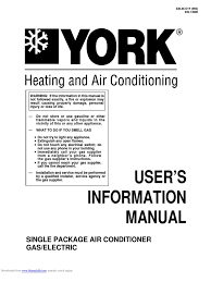 york air conditioner service manual air conditioner databases