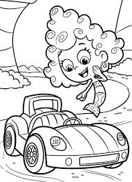 printable 12 bubble guppies coloring pages deema 7076 bubble