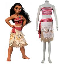 aliexpress com buy 2017 movie moana princess dress women kids